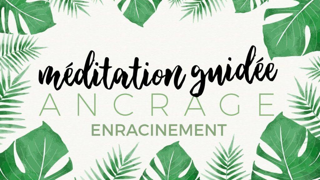 Méditation guidée Ancrage et enracinement par Jérémy Zehren, relaxation